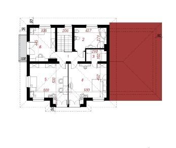 Проект  Вилла Алиция, 221.8 м2