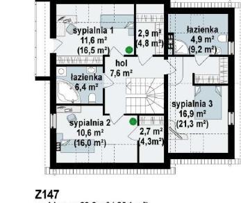 Проект дома Проект z147, 181 м2