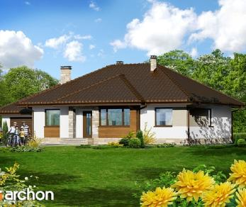 Проект  Дом в акебиях, 130.6 м2