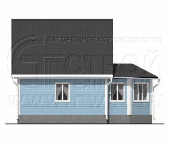 Проект дома Проект дома №88, 57.5 м2
