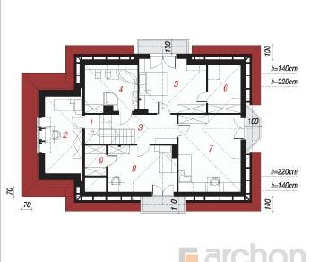 Проект  Дом в левкоях, 177.2 м2