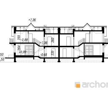 Проект  Дом в антоновке (ГБ), 262.2 м2