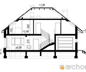 Проект  Дом в каллатеях 5, 168.7 м2