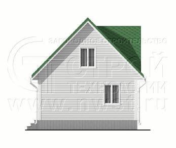 Проект дома Проект дома №102, 48 м2