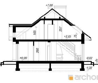 Проект  Дом в лотосах (ПД), 107.3 м2