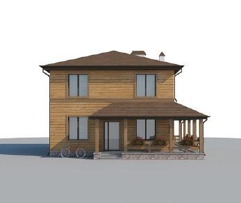 Проект дома AS-2039-2, 137 м2