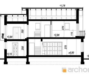 Проект  Дом в лантанах 2, 131.3 м2