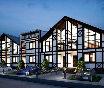 Коттеджный поселок Альпийская деревня