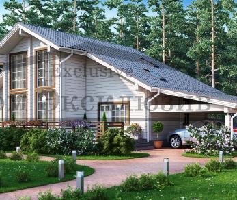 Проект дома Проект ДН-363, 229 м2