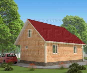 Проект дома Проект дома №24, 61 м2