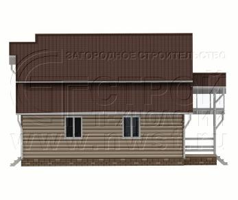 Проект дома Проект дома №133, 85 м2