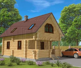 Проект дома Проект дома №81 Каменогорск, 63 м2