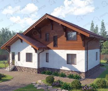 Проект  Боровичи, 190 м2