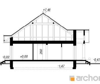Проект  Дом под красной рябиной 4, 118.9 м2