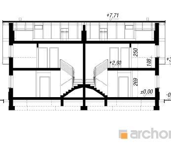 Проект  Дом в клематисах 10 (А), 235.2 м2
