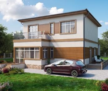 Проект дома AS-2027, 166 м2
