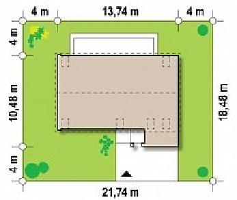 Проект дома Проект Zx38, 186.6 м2