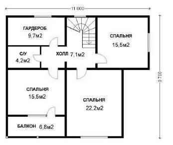 Проект  Сергий, 176 м2