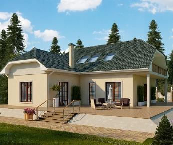 Проект дома AS-2149-2, 242 м2