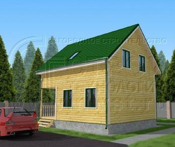 Проект дома Проект дома №76, 42 м2