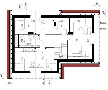 Проект  Дом в манго, 143.9 м2