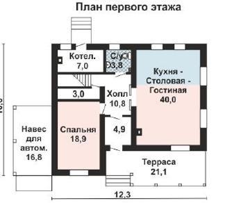 Проект дома AS-2240, 182 м2