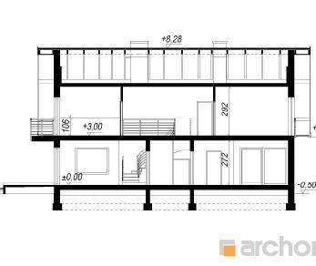 Проект  Дом в завильцах, 184.18 м2