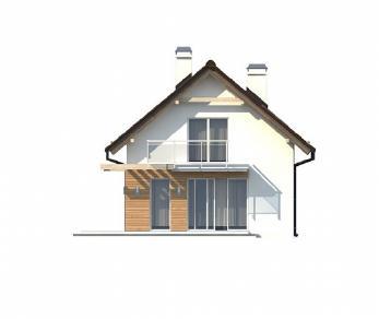 Проект дома Проект Z264, 77.9 м2