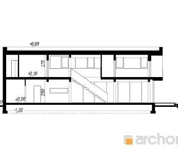Проект  Дом в караганах, 228 м2