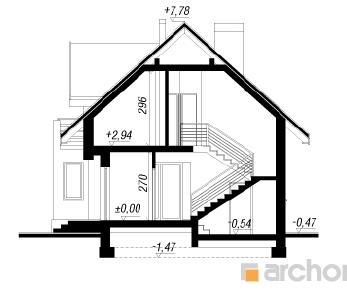 Проект  Дом в ананасах (Н), 131.7 м2