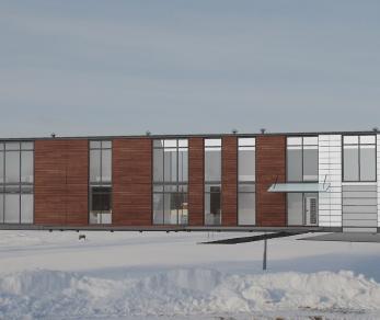 Проект дома Проект в стиле минимализм, 300 м2