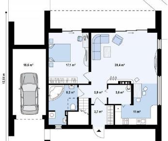 Проект дома Проект zx55, 177.4 м2