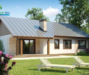 Проект дома Проект z98, 122.5 м2