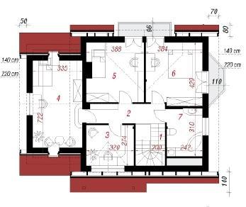 Проект  Дом под буками 4 (Г), 144.2 м2