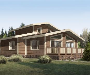 Проект дома КП-014, 274.5 м2