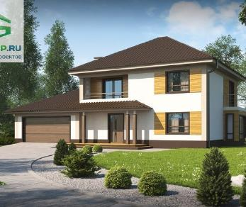 Проект дома Проект zx12gl2, 225.7 м2