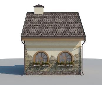 Проект дома AS-2043, 52 м2