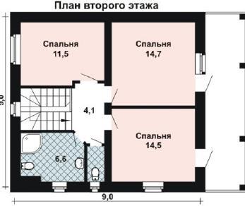 Проект дома AS-2082, 162 м2
