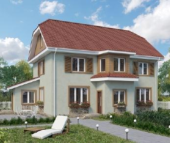 Проект дома AS-2084-2, 166 м2