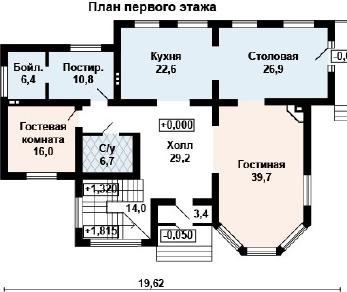 Проект дома AS-2109, 308 м2