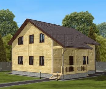 Проект дома Проект дома №135, 92.5 м2
