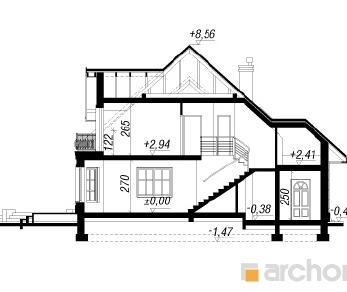 Проект  Дом в очанке 2, 208.2 м2