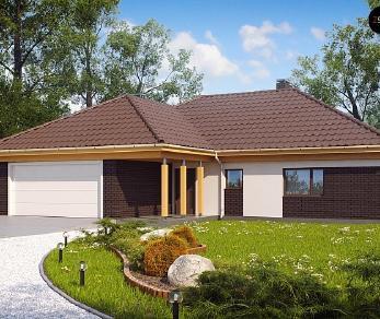 Проект дома Проект Z144, 165.9 м2