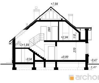 Проект  Дом в кобеях, 182.5 м2
