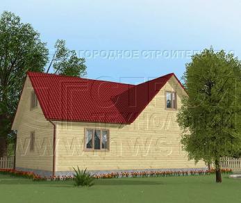 Проект дома Проект дома №34, 88 м2
