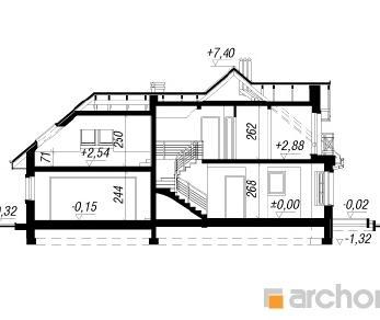 Проект  Дом в рододендронах 2 (Г2), 153.2 м2