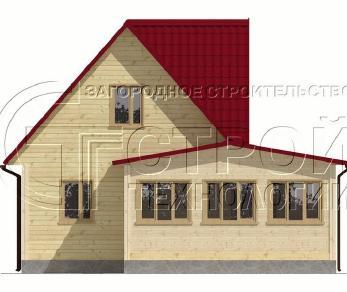 Проект дома Проект дома №18, 54 м2