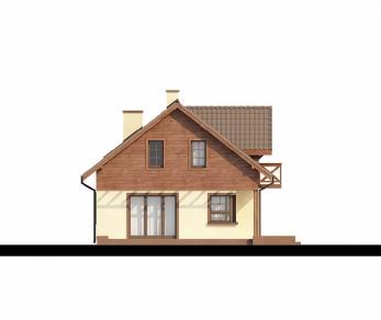 Проект дома Проект Z33, 133.3 м2