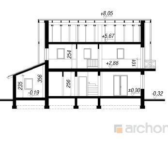 Проект  Дом в примулах 3, 136 м2
