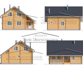 Проект дома Проект ДН-192, 157.9 м2